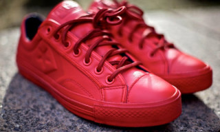 Converse Star Player 75 Low Deluxe by Ronnie Fieg – Red Colorway