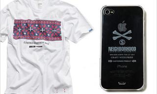 Zozotown x NEIGHBORHOOD Mag Vol. 7 T-Shirts & iPhone 4 Case
