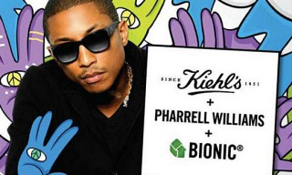Pharrell Williams x Kiehl's Bionic Yarn Tote Bag