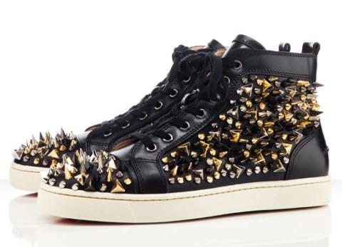 Christian Louboutin Louis Tik Tik Flat Sneakers