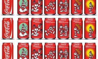 James Jarvis x Coca-Cola 125th Anniversary Cans
