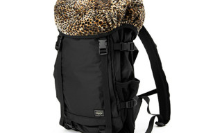 coffee and milk x Porter 'Leopard' Daypack