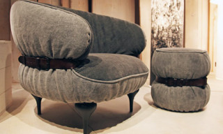"Moroso for Diesel ""Chubby Chic"" Furniture Collection"