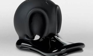 Jiri Geller's Donald Duck Skull Sculptures