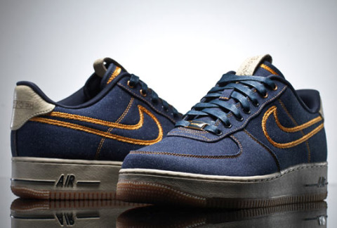We take another look at the much anticipated Nike Air Force 1 Low Premium  'Denim'. The iconic sneaker comes this time with an entire denim upper and  ...