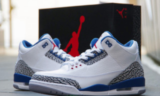 Nike Air Jordan 3 White/True Blue