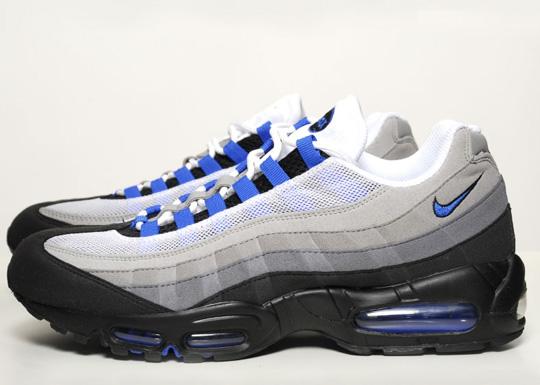 nike air max 95 black grey blue