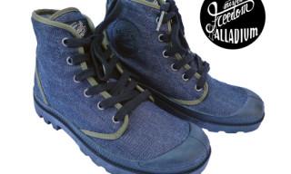 """Palladium x Mr. Freedom """"PALLADENIM"""" Boots"""