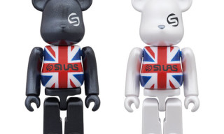 "Medicom x Silas ""Union Jack"" Bearbicks"