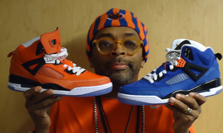 "Spike Lee Unveils New Jordan Spizike ""Knicks"" PEs"
