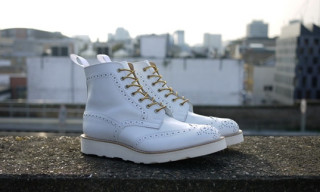 Tricker's for Present White Brogue Boots