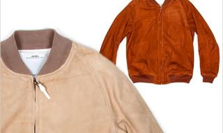 visvim Suede Varsity Jacket