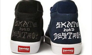CLUCT x mita sneakers x Thrasher