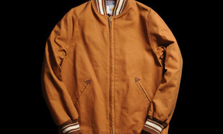 Golden Bear Open Bottom Varsity Jacket