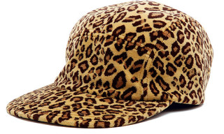 Masterpiece Leopard Print 5-Panel Cap