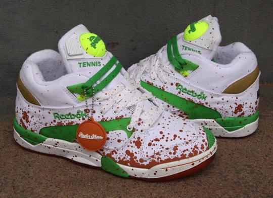 reebok pump tennis shoes
