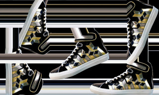Pierre Hardy 'Discorama' High Top Sneakers