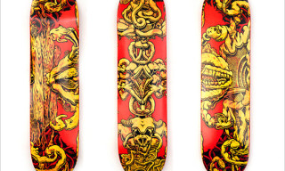 The Hundreds by Mark Dean Veca Skate Decks & Johnson Mid Sneaker