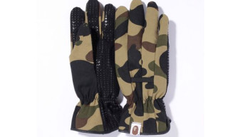 Bape 1st Camo Garden Gloves