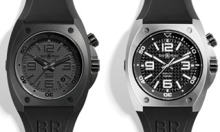 Bell & Ross BR02 Steel and Phantom Divers