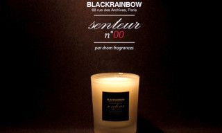 BlackRainbow Senteur n°00 by DROM Fragrance Scented Candle