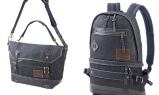 Edwin x master-piece Luggage Collection