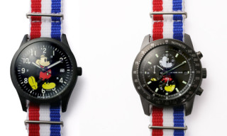 Jam Home Made 'Mickey Mouse' 10th Anniversary Watches
