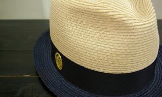 NEXUSVII Two Tone Straw Hat