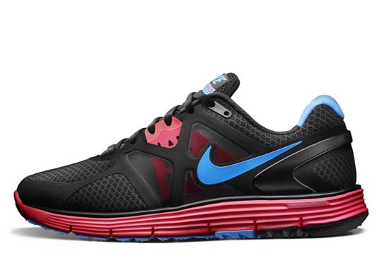 Nike Lunarglide 3 Svart Og Rosa zVJTPlnol