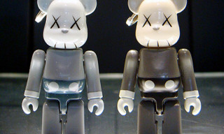 Original Fake 5th Anniversary KAWS Companion 70% Bearbrick