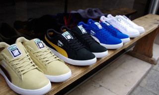 Undefeated x Puma Clyde Canvas Collection