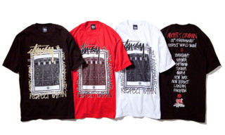 Stussy x Mighty Crown 20th Anniversary 'Respect' T-Shirts