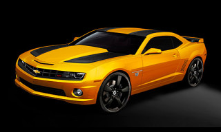 2012 Transformers Special Edition Chevrolet Camaro Coupe