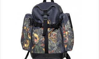 Givenchy 'Rottweiler' Wool Flannel Backpack