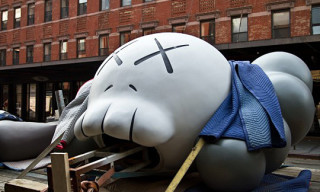 "KAWS ""Passing Through"" at the Standard NY"