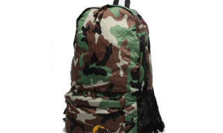 Ships Jet Blue x Lowe Alpine Collapsible Camo Backpack