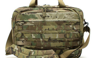 Tasmanian Tiger x Beams Camo Briefcase