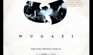 Music: WUGAZI – Sleep Rules Everything Around Me