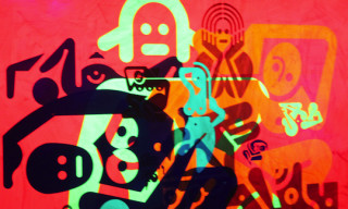 Exhibition – Ryan McGinness 'Women: The Blacklight Paintings'