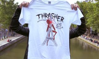 Cool Cats x Neckface for Thrasher Magazine T-Shirt