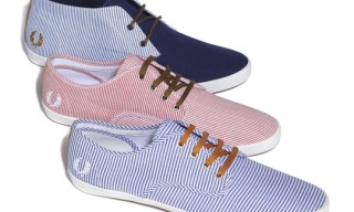 Fred Perry Authentic Footwear – Woven Stripe