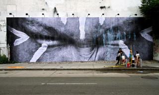 New JR Mural on Houston