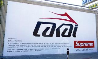 Lakai Mike Carroll Signature Shoe for Supreme