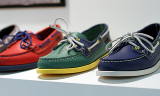 Sebago Dockside 'Color-Block' Series Spring/Summer 2012