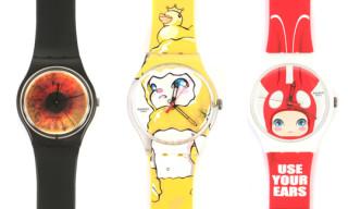 Swatch Collaborates with Rankin & Hiroyuki Matsuura