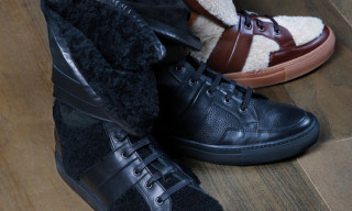 Trussardi 1911 High Top Sneakers Fall/Winter 2011