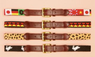 Tucker Blair for Opening Ceremony Belts