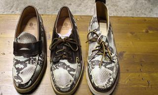 Yuketen 'Rattlesnake' Shoe Collection