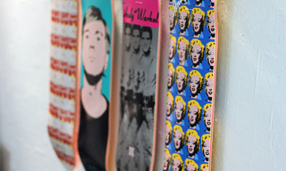 Alien Workshop x Andy Warhol Skate Decks Round 3