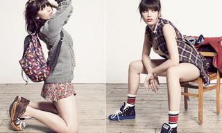 BAPE Women's Fall/Winter 2011 Lookbook Feat. Daisy Lowe